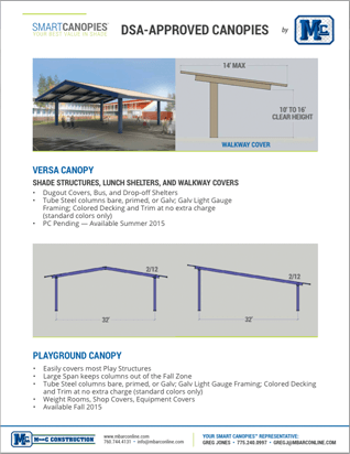 Smart Canopies™ By M Bar C Construction
