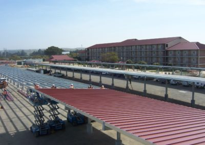 Standing Seam Roof Deck
