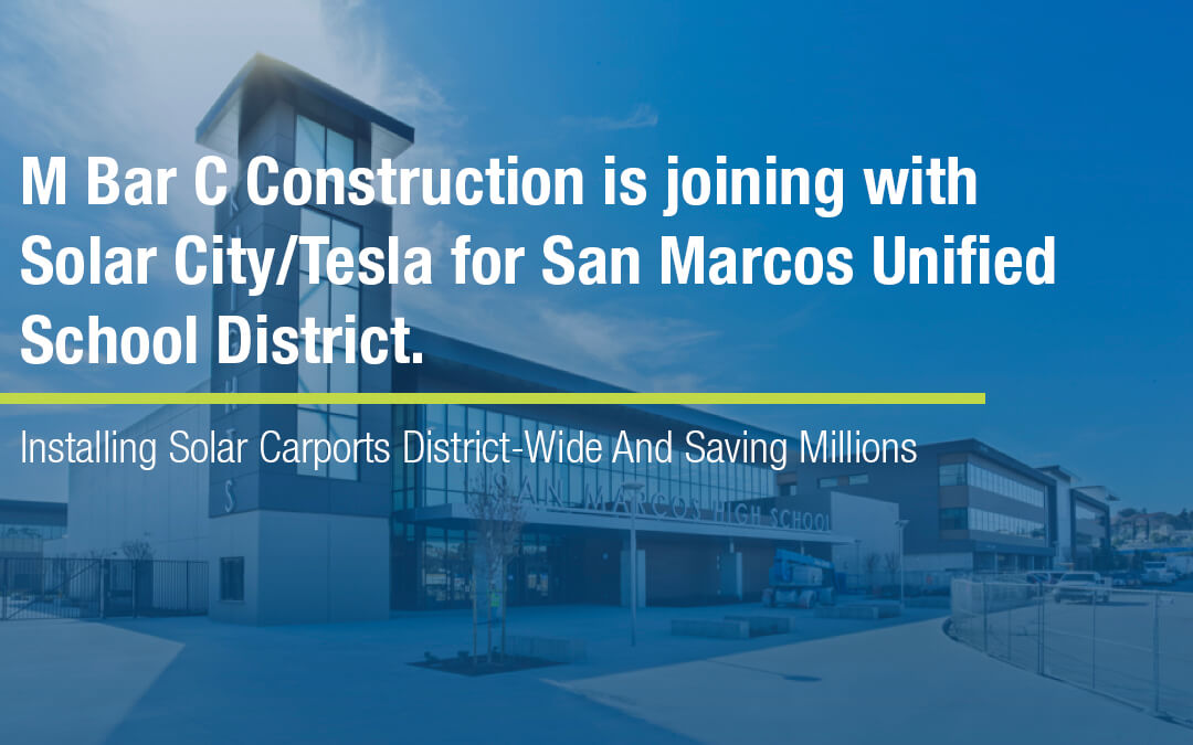 We're joining with Solar City | Tesla for San Marcos Schools!