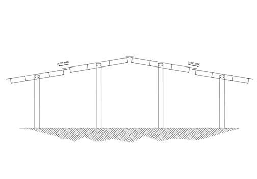 Versa Canopy Double Gable