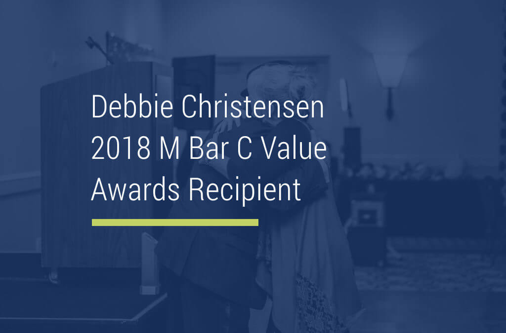 Values Award Recipient: Debbie Christensen