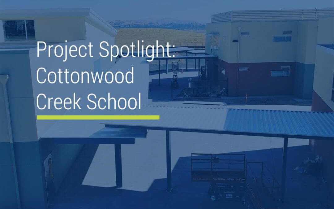 Project Spotlight: Cottonwood Creek School