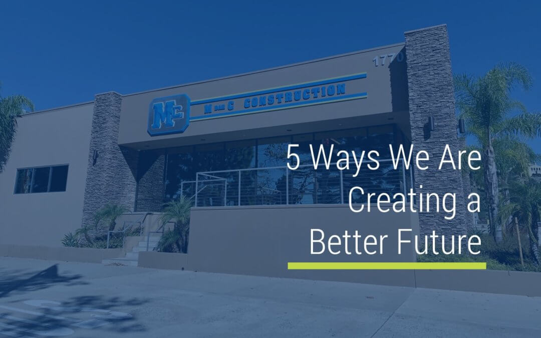 5 Ways We Are Creating a Better Future