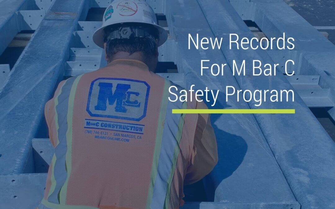 New Records for Safety Program
