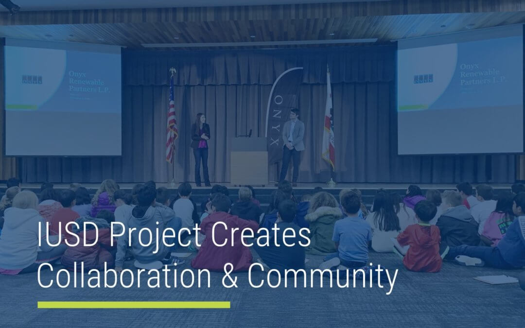 IUSD Project Creates Collaboration & Community