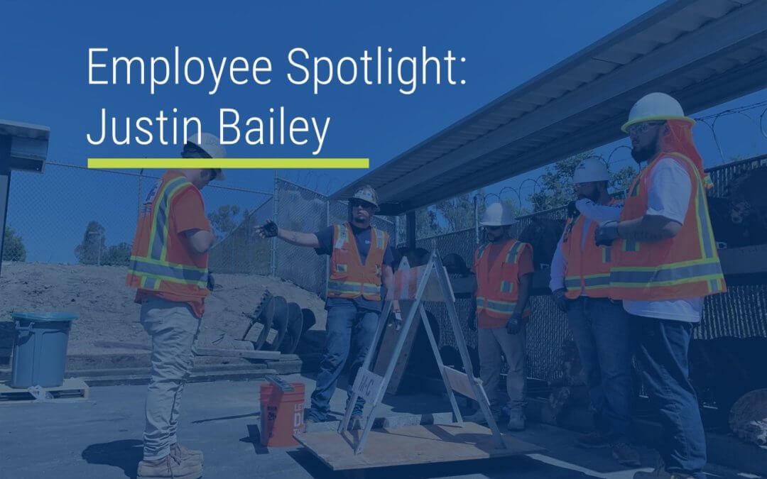 Employee Spotlight: Justin Bailey