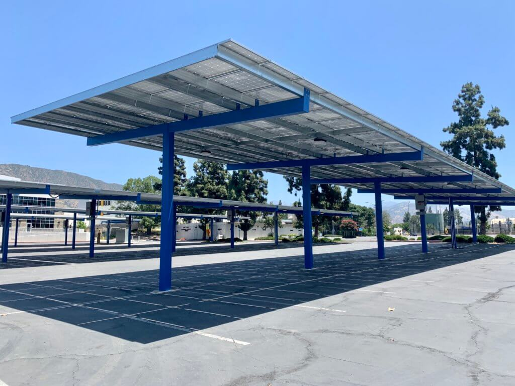 College Solar Carports