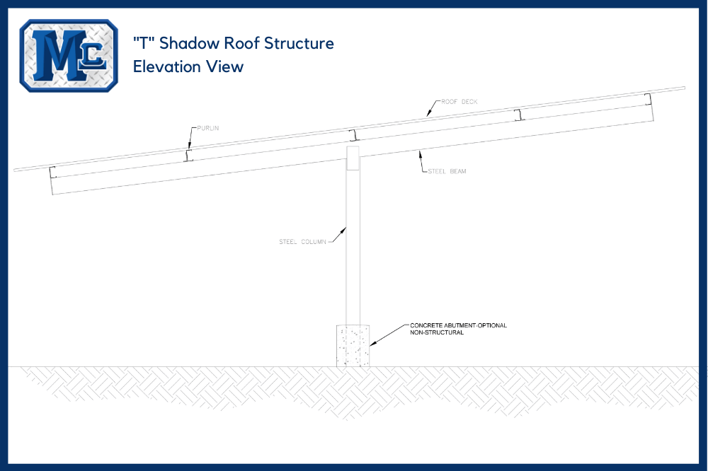 _T_ Shadow Roof Structure
