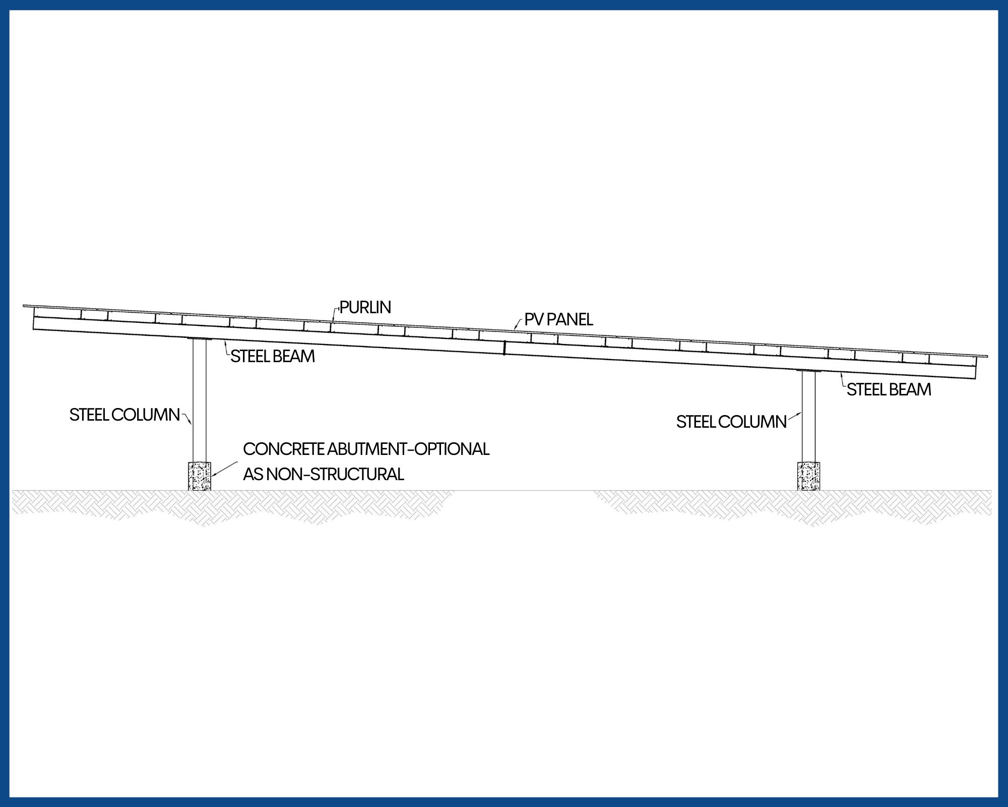 Long Span Carport