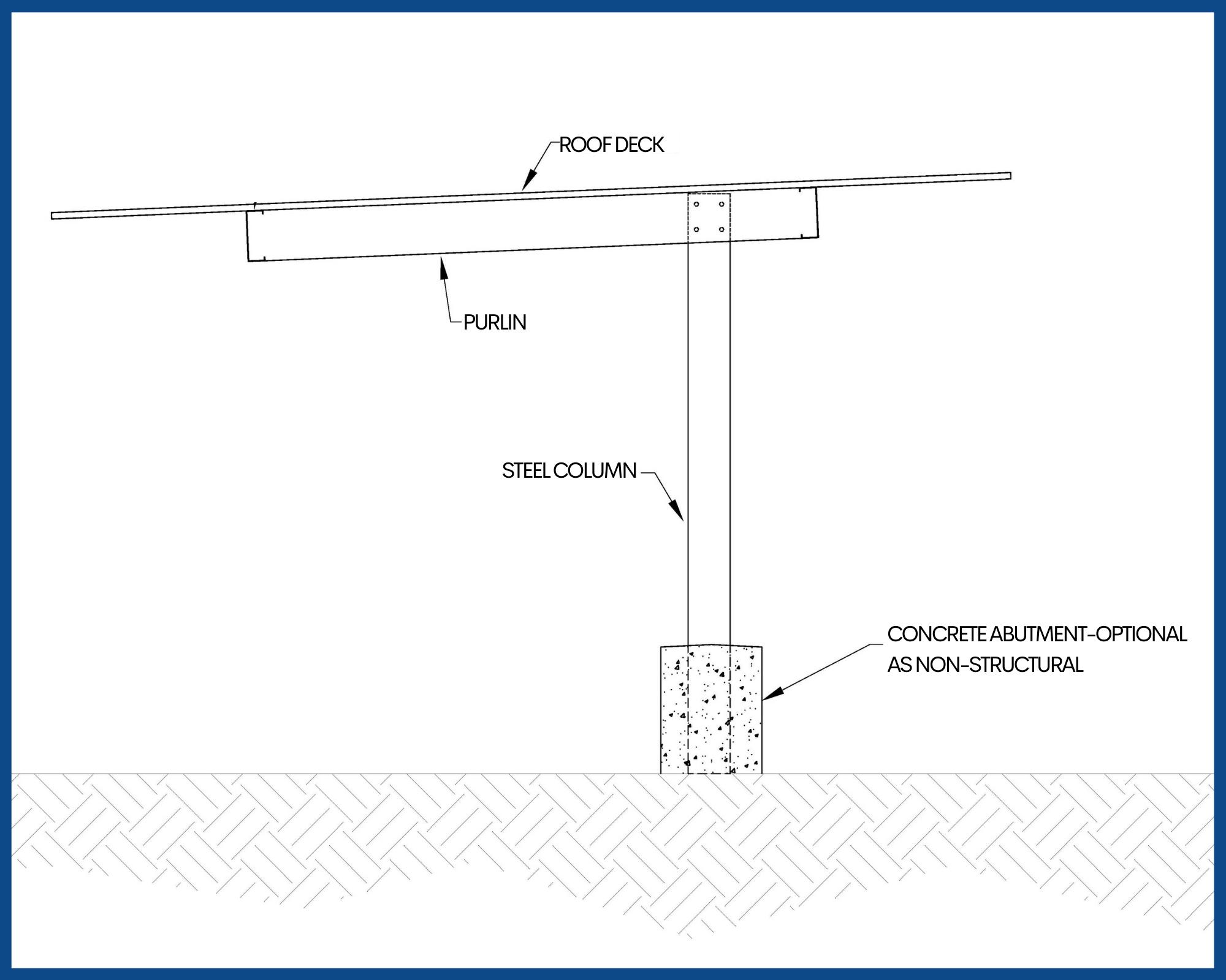 OT Structure Carport - Non-Solar