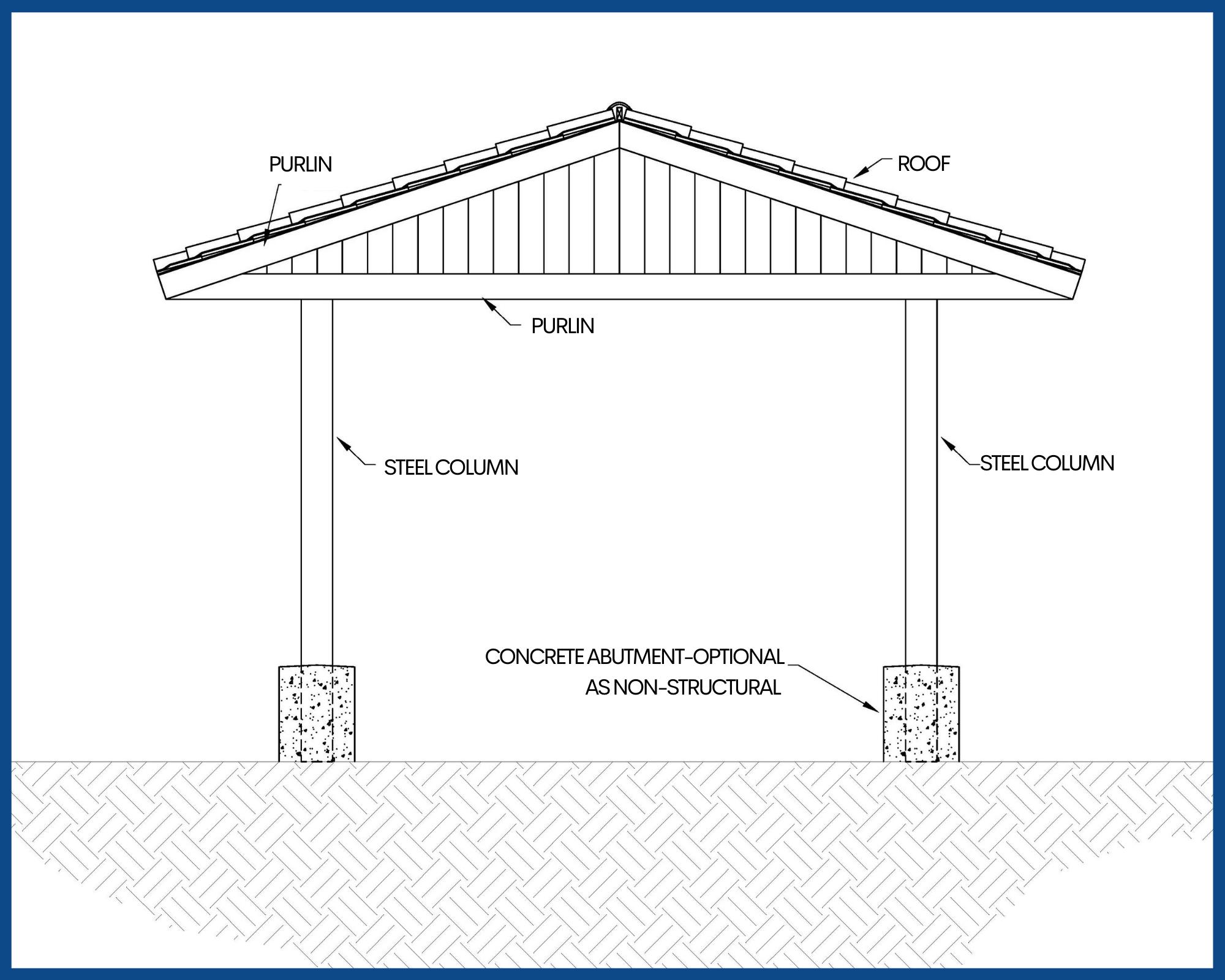 Saddleback Shade Structure