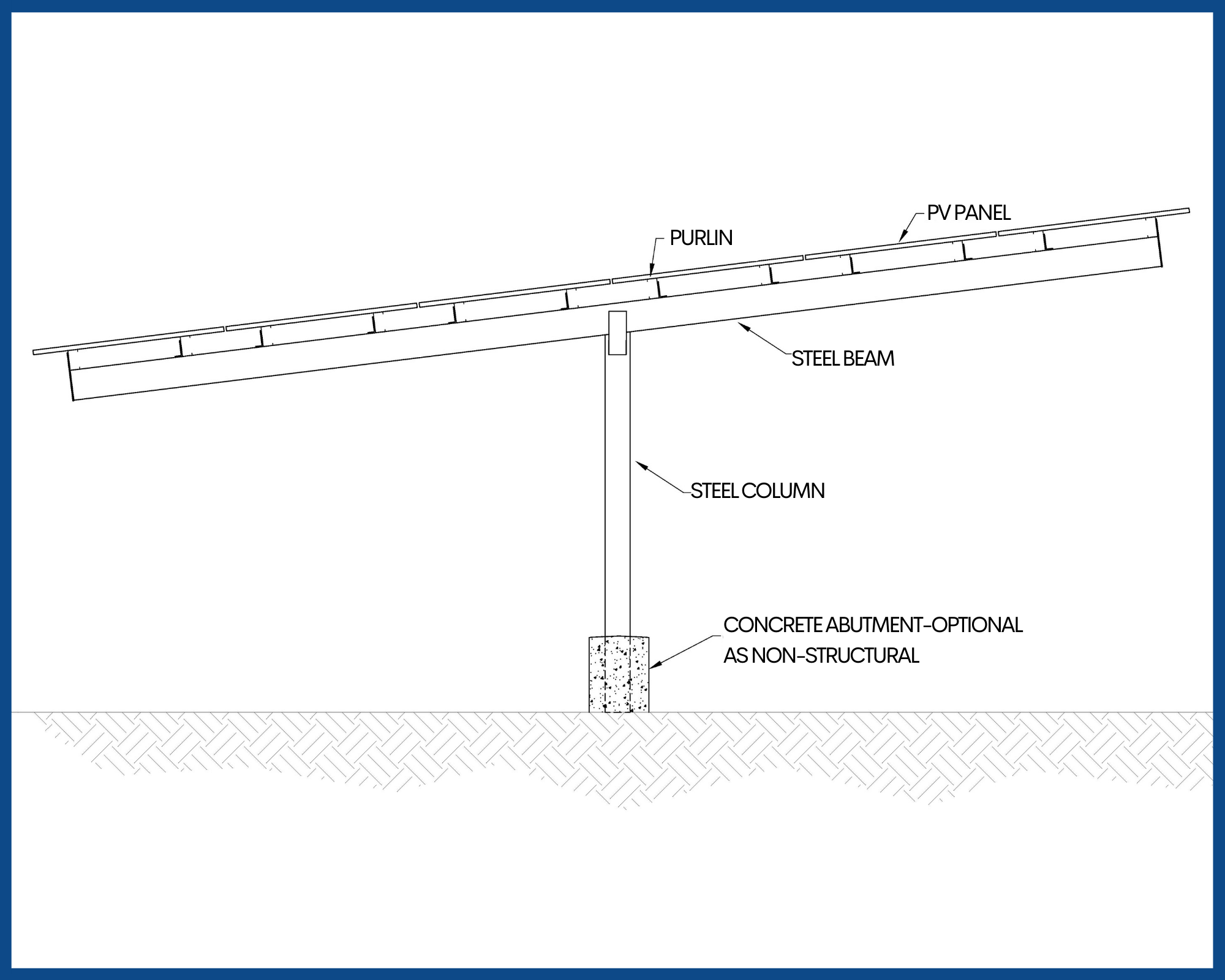 T-Structure Carport - Solar