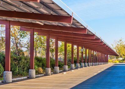 Semi Cantilever Carport
