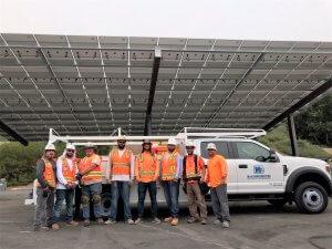 Carport Installation Field Crew