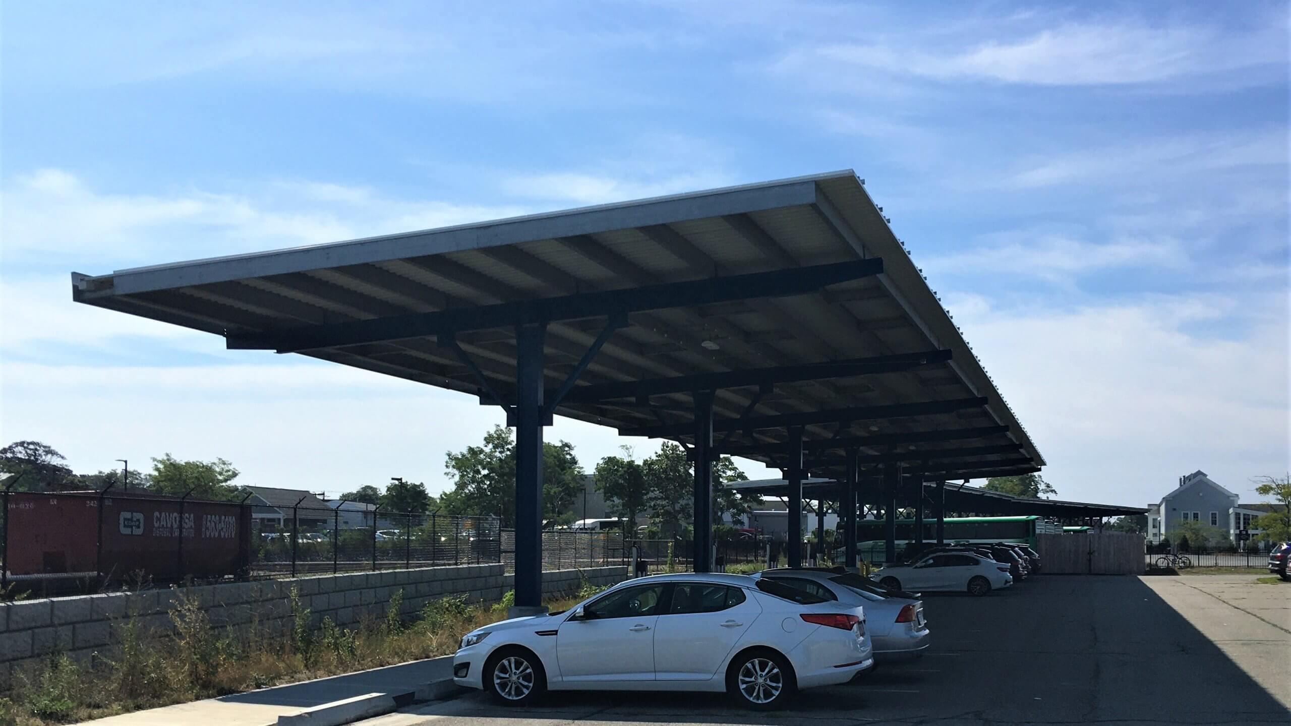 Massachusetts Carport