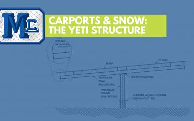 Solar Carports & Snow: The Yeti Structure Solution
